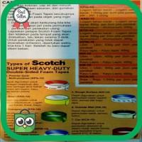 Termurah Double Tape 3M Bening Transparan ASLI - ORIginal Terlaris
