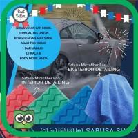 Termurah Lap microfiber khusus mobil ukuran 40×40cm kain microfiber