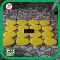 Termurah busa poles busa waxing applicator pad busa aplikator 10cm