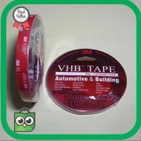 Termurah Double Tape 3m VHB Isolasi Ukuran 12mm 4 5m Perekat 3M