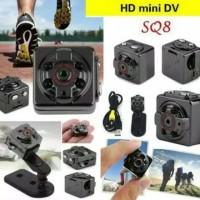 SQ8 Mini Dv Camera Full HD 1080p DVR Aluminium