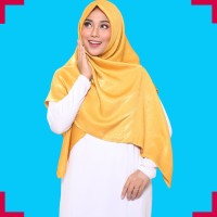 Hijab Voal Jilbab Umama Viscose Syari Kerudung Segi empat Polos Jumbo