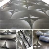 Wallpaper Sticker Dinding Kawung Hitam 10 M