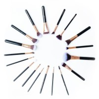 Professional Brush Set (18 Pieces)   Tube List Murah