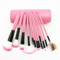 Make Up Brush 12 Set In Tube Kuas Rias Make Up Br4 Barang Best Seller