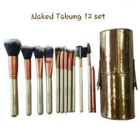 Naked Make Up Brush Tabung Isi 12 Set Item Berkualitas