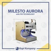 milesto aurora coffe machine Espresso maker mesin kopi whit PID cafe