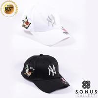 TOPI BASEBALL IMPORT NY NEWYORK MLB SPORT   HIGH QUALITY BORDIR NY4
