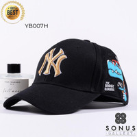 TOPI BASEBALL IMPORT NY NEWYORK MLB SPORT   HIGH QUALITY BORDIR NY5