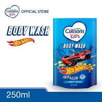 Cussons Kids Body Wash Hot Wheels Fresh & Clean 250ml