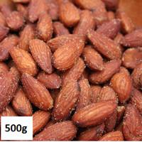 Kacang Almond Panggang Rasa Asin Ringan 500gr/ Roasted Almond Salted