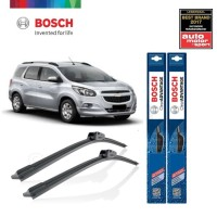 Wiper Mobil Frameless Chevrolet Spin Sepasang Bosch Clear Advantage