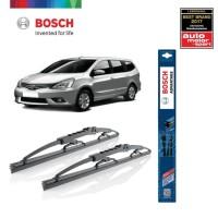 Wiper Mobil Nissan Livina Sepasang Bosch Advantage