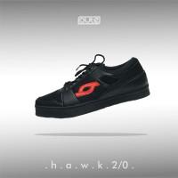 HAWK 2.0 BLACK SNEAKERS