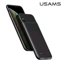 USAMS Battery Case iPhone Xs Max Power Case Backup PowerBank 4000mAh