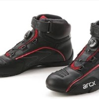 Sepatu motor Arcx twat Half pendek Arc x original turing touring biker