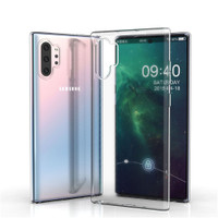 SAMSUNG GALAXY NOTE 10 PLUS Case Transparant Clear TPU Softcase 2mm