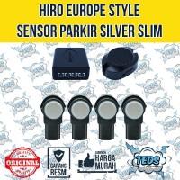 Hiro Sensor Parkir Slim Silver - Europe Style