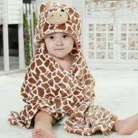 Selimut Hoodie karakter animal Disney Carter baby carters Random Motif