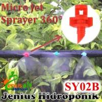 Micro Sprayer 360 / Sprinkler Micro Jet / Aeroponik / Sprinkler Kebun