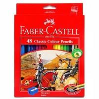 Pensil Warna Faber Castell 48 Warna Panjang
