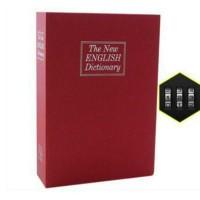 Brankas Mini Model Buku Kamus / Security Dictionary Safety Box
