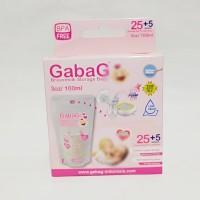 Gabag Kantong Asi Pink 100ml / Gabag Breastmilk Storage Bags 100ml