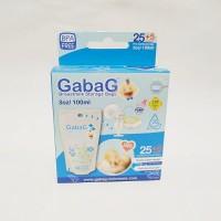 Gabag Breastmilk Storage Bags Kantong ASI - Blue 100 ml