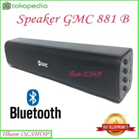 Speaker Bluetooth GMC 881B Portable USB Memory GMC 881B