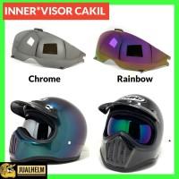 Kaca Inner Visor Rainbow (Helm Cakil)