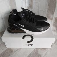 Sepatu Sneakers Running Nike Airmax 270 Black White Premium Original