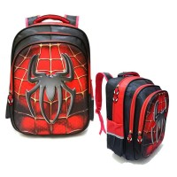Tas Ransel Sekolah Anak SD laki laki Spiderman jaring laba laba