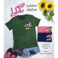 Kaos LCC Mickey Minnie
