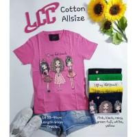 Kaos LCC Girls All Size