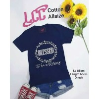 Kaos LCC Blessed All Size
