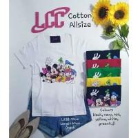 Kaos LCC Mickey Minnie All Size