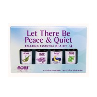 NOW LET THERE BE PEACE & QUIET ESSENTIAL OIL SET (ISI 4)