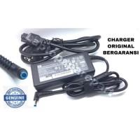 Charger Adaptor Original Laptop Notebook HP 19.5V 2.31A PIN Biru