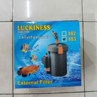MESIN EXTERNAL FILTER CANISTER LUCKINESS 883 SPEK MIRIP JEBO 225
