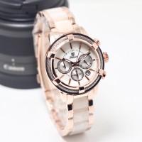 jam tangan TETONIS ORIGINAL WANITA KAWAT SLING ROSE GOLD RANTAI