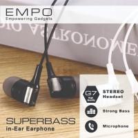 Empo G7 Stereo Superbass Earphone