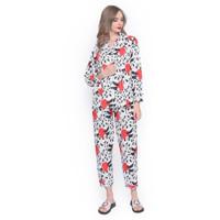 MOSIRU Piyama Wanita Setelan Baju Tidur Pajamas Termurah PP 103G