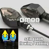 Lampu Sein Led Variasi Model Panah Flowing - Sen 2 Warna Running Arrow