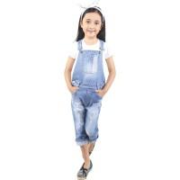 Setelan Jeans Anak Perempuan CDF 124 by Catenzo Junior Bandung