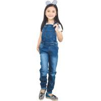 Setelan Jeans Anak Perempuan CNU 004 by Catenzo Junior Bandung