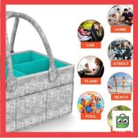 Promo Baby Diaper Caddy Organizer Nursery Diaper Caddy Storage Bag,
