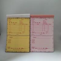 Nota two in one rangkap dua (pink)