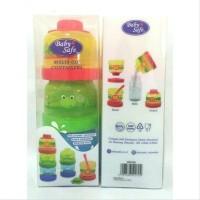 Baby Safe Stacked Milk Container - Wadah Susu Bubuk - Snack - Makanan
