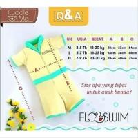 FLOSWIM Baju Renang Anak 7-9 Th - SIZE XL - CUDDLE ME FLOATING