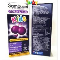 ORIGINAL Sambucol COLD&FLU Kids - Bantu Redakan Gejala FLU - 120ml